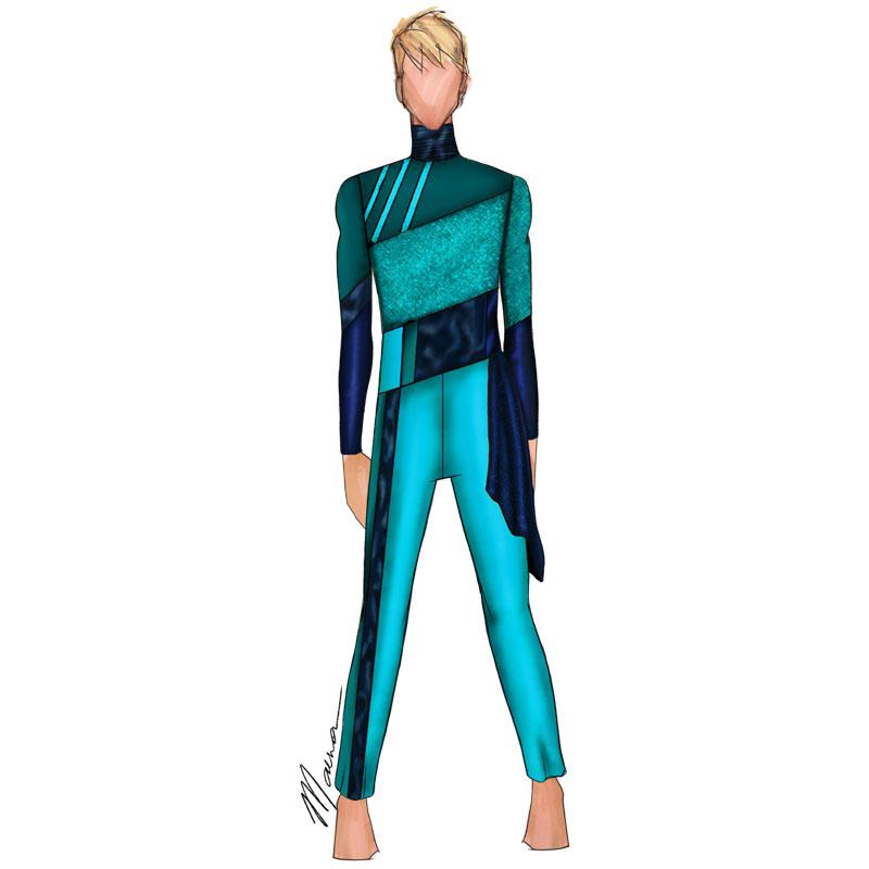 Mallard Turquoise Navy