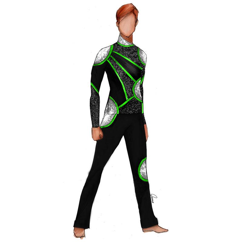 Black Neon Green