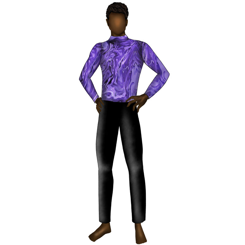 Graphic Purple