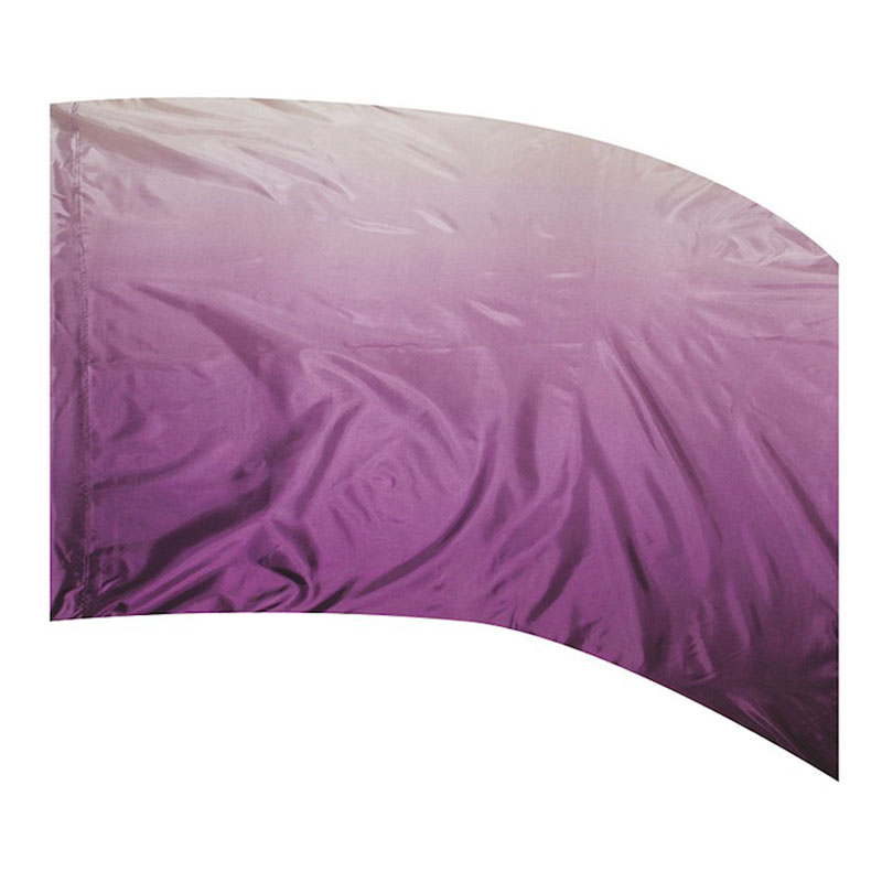 F1 OMBRE PRINT - POLY CHINA SILK DEWBERRY
