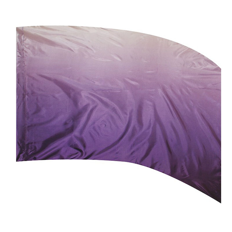 F1 OMBRE PRINT - POLY CHINA SILK PURPLE