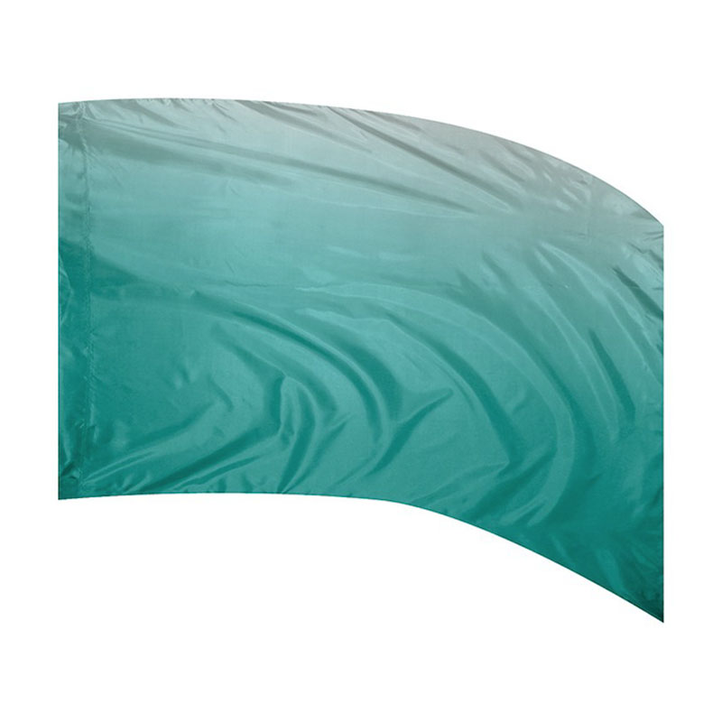 F1 OMBRE PRINT - POLY CHINA SILK SEAFOAM