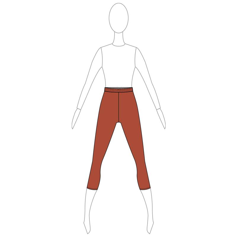 PANTS 002-A BROWN
