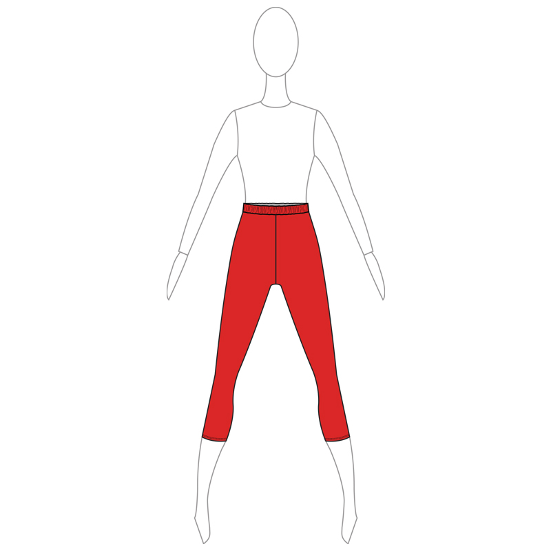 PANTS 002-A RED