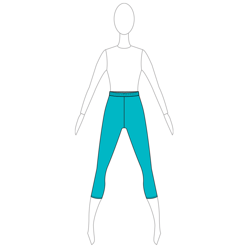 PANTS 002-A TURQUOISE