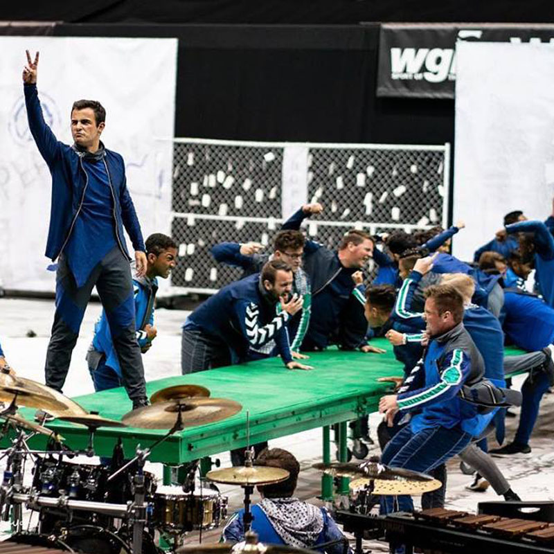 PULSE PERCUSSION 2019 WGI IW SILVER MEDALIST
