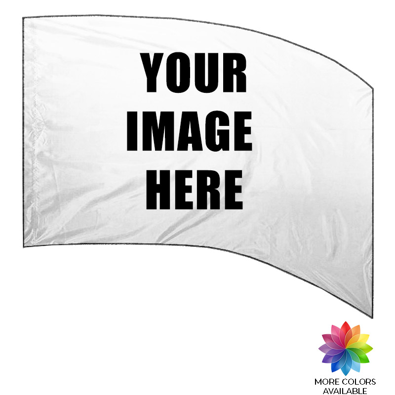 Custom Digital Print Flag - Rectangle